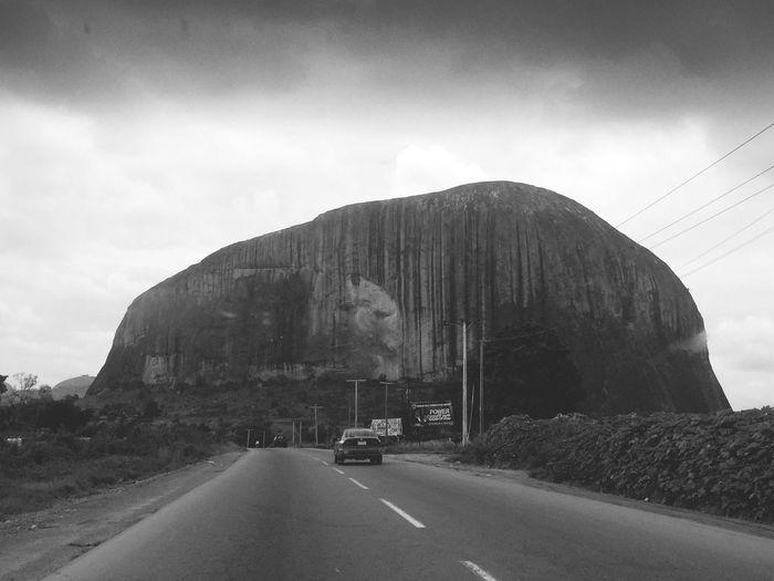 Nigeria... Zuma Rock... P Taking Photos Fun Taken By Me Bored In Class
