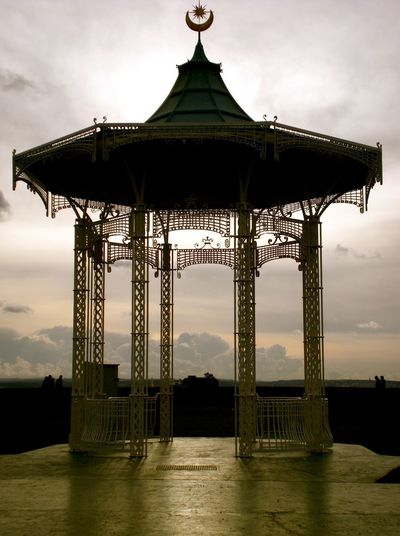Bandstand at Sunset Bandstand Southsea Bandstand Architecture Built Structure Cloud - Sky Day Dusk Metal Structure No People Outdoors Silhouette Sky Sunset