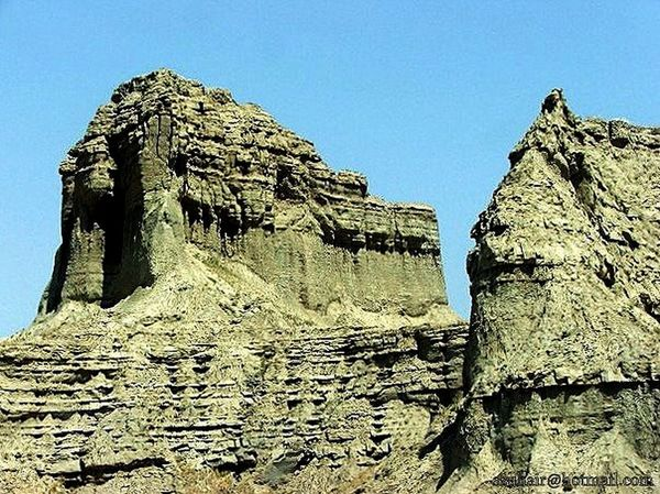 years of carving on sand mounds by rain and wind Coastal Highway Gwadar Eye4photography  EyeEm Best Shots