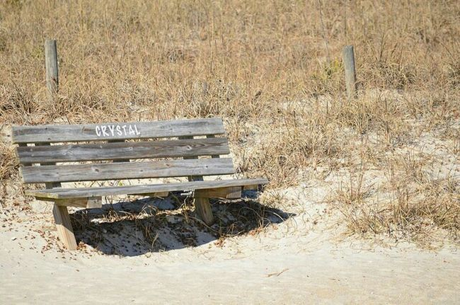 Crystal Bench Wrightsville Beach North Carolina Bench Beach Benchesoftheworldunite Life Is A Beach Pjpink