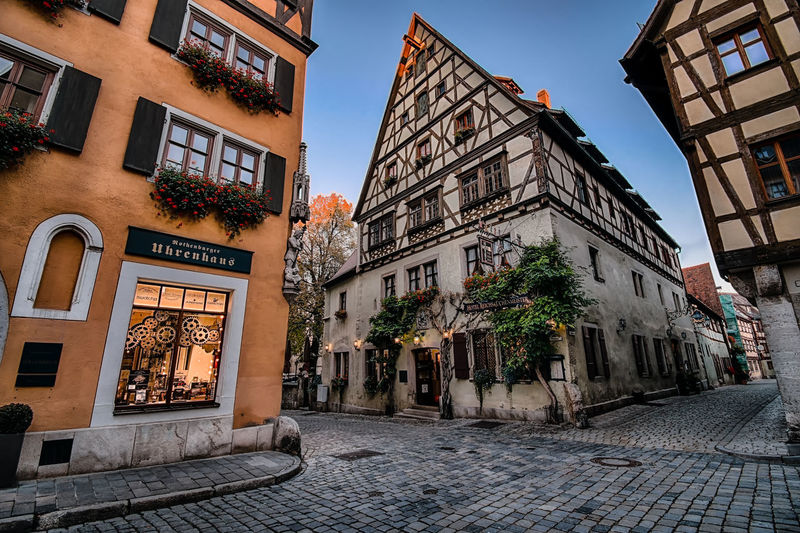 Just like clockwork. Architecture Architecture_collection City Cityscape Deutschland MedievalTown TOWNSCAPE Architecture Clock Maker Clockmaker Clockworks Cogwheel Europe Germany Illuminated Medieval Outdoors Rothenburg Ob Der Tauber Street Street Photography Town Travel Destinations Wide Angle