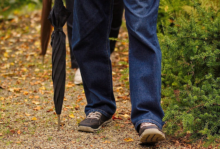 Autumn Casual Clothing Close-up Day Human Body Part Human Leg Jeans Men Nature One Man Only One Person Only Men People Real People Shoe Standing