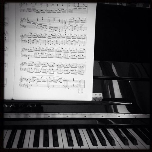 Playing Music The End Piano