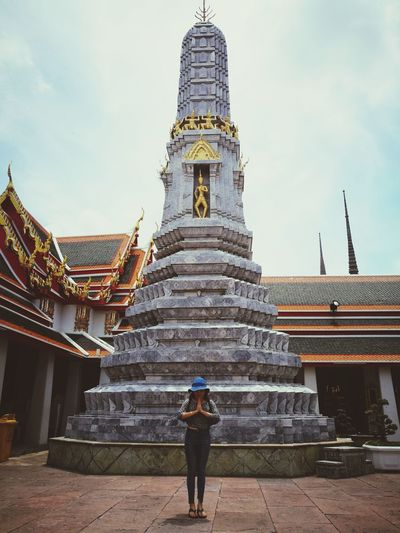 Temple day Religion Architecture History Tourism People Cloud - Sky Arts Culture And Entertainment Spirituality Statue Day Work And Travel Love Photograph Me, My Camera And I