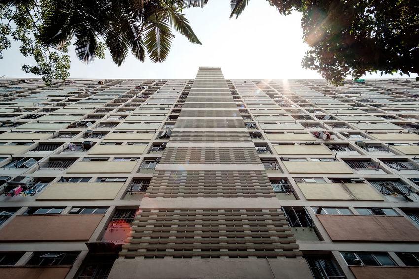 Choi Hung Estate Hong Kong Estate Architecture ASIA Urban Sun
