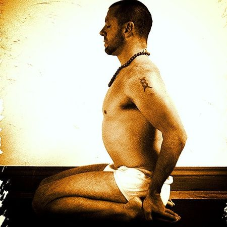 The Bliss pose Yoga Asana Pranayama Mudra Bandha Bliss Ananda Pratyahara Meditation