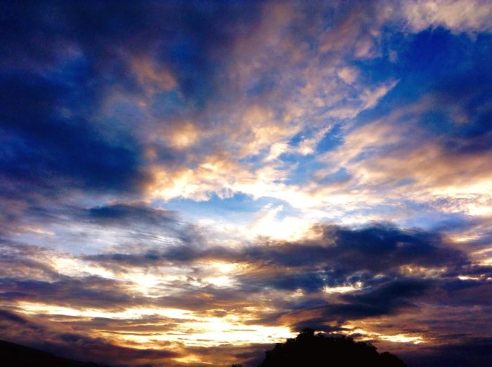#ipodtouch sunset Nature Beauty In Nature Scenics Sky Dramatic Sky Backgrounds
