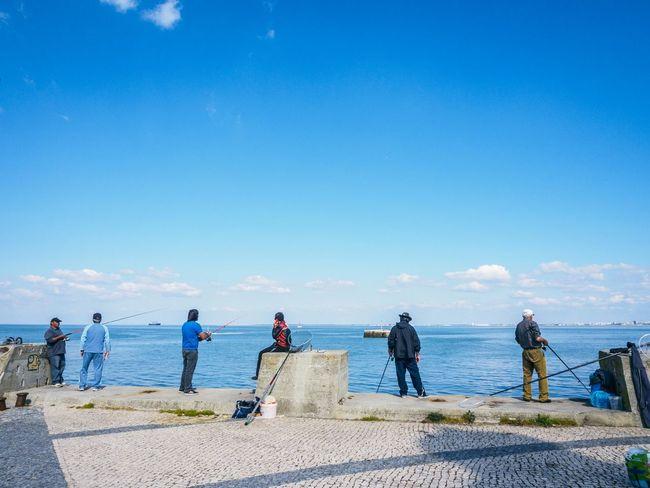 Weekend Sunny Seaside Fishing People Everyday Joy