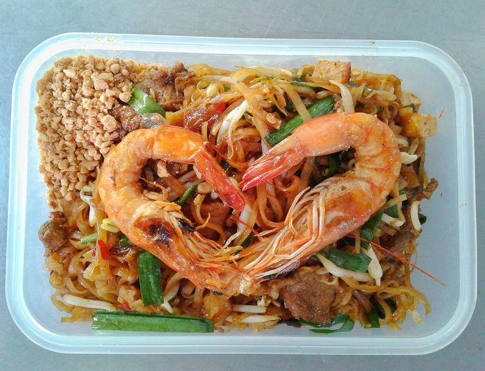 Seafood Plate Directly Above High Angle View Close-up Food And Drink Prawn Shrimp - Seafood Noodles Shrimp Serving Size Thai Food Noodle Soup Ramen Noodles Chopsticks