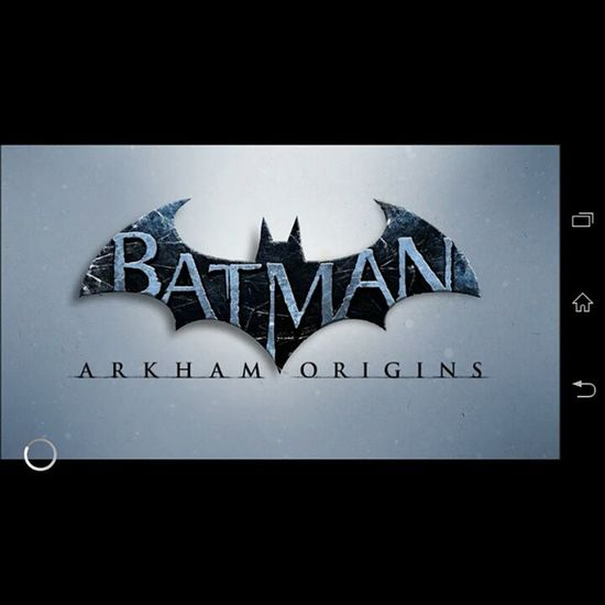Last night, I found out that I can play Arkham Origins on my phone. It's still a piece of junk but it's a piece of junk I can play Arkham Origins on. Batman Arkhamorigins Videogames Sonyxperial justgeekthings