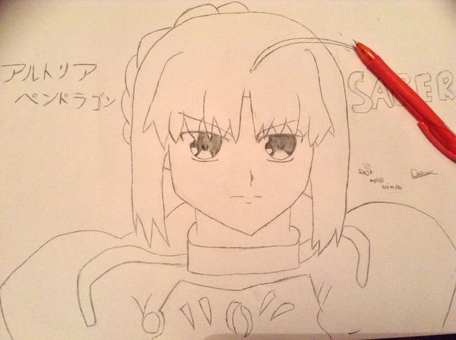 Drawing My Top 2 Favorite Anime!! <3 AnimeDaisukiForLife KAWAII Drawing OtakuAnime My Drawing
