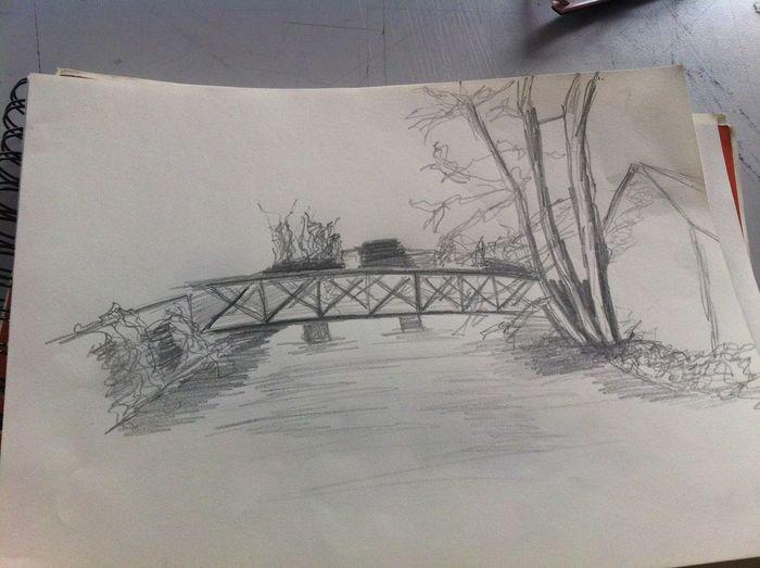 Cour de dessin exterieur Art ArtWork Dessin Manaa