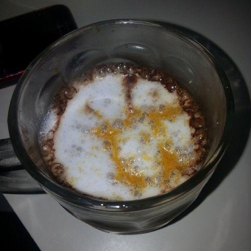 妹子的招待咖啡~