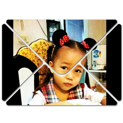 my little girl is going to school ...