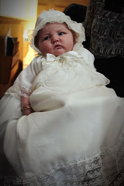 Vintage baptism gown Cute One Person Indoors  Childhood Baby People Babies Only Gown Vintage Baptism Christening LYNN Massachusetts Church EyeEm New Here EyeEmNewHere