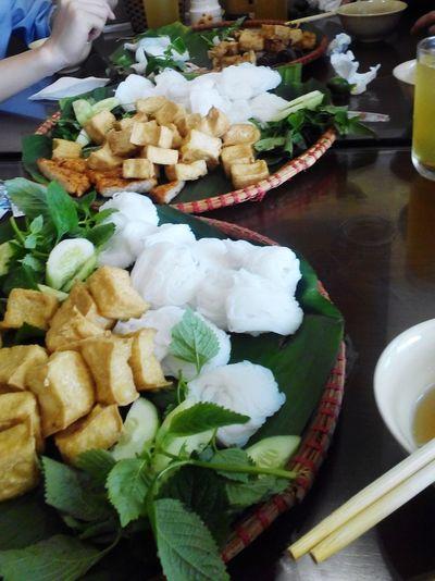 Better Together Vietnamese Food Lunch Time! Enjoying A Meal Búnđậumắmtôm StreetFoods