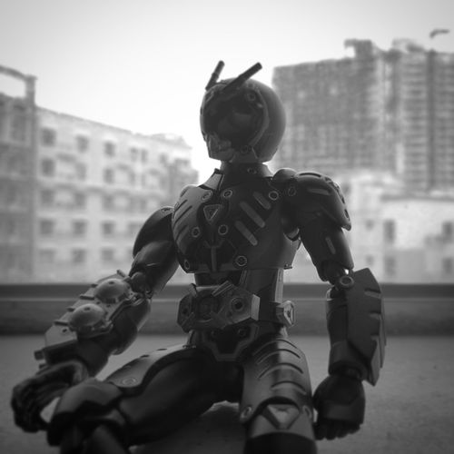 Masked Rider Toyphotography Toy Monochrome Maskedrider HuaweiP9 Leicacamera