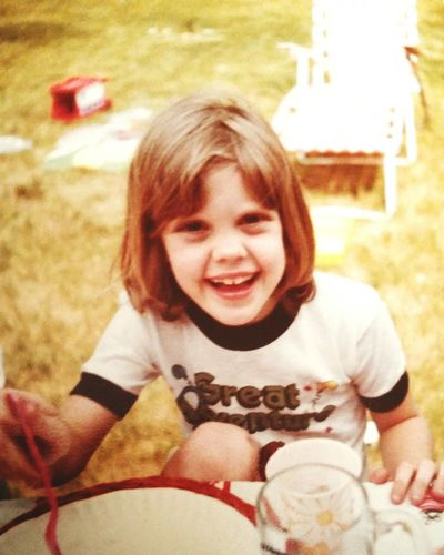 A picture of me at a picnic at my aunt's when I was about 10 years old. I'll be 46 Thursday. Such fond memories. Fond Memories Gone By That's Me Hanging Out Enjoying Life Cheese! Summer Fun Summer Memories 🌄 Young And Beautiful Blue Eyes Picnic Childhood Memories