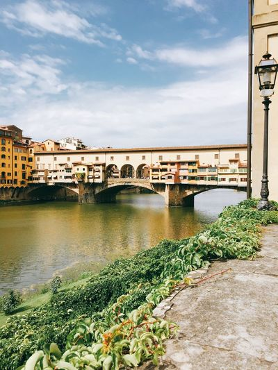 Architecture Bridge City Gelato Italy Jewels&gems Pontevecchio Water