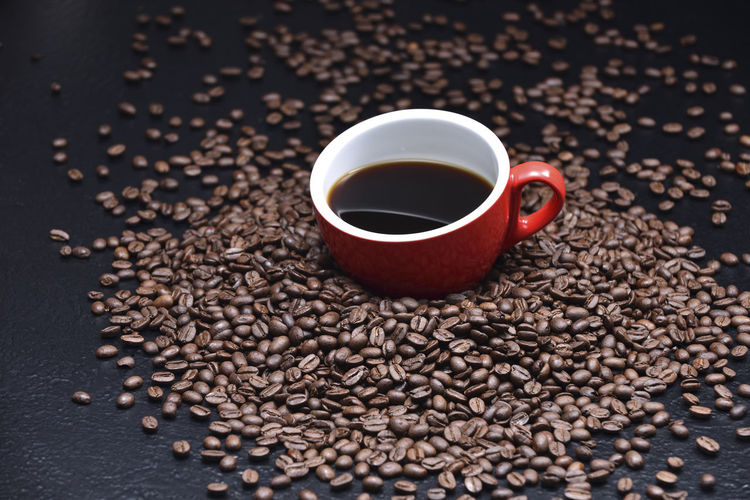 Aroma of coffee Coffee Breakfast Brewing Cappuccino Charming Close-up Coffee - Drink Coffee Bean Coffee Beans Coffee Cup Cup Day Drink Espresso Espresso Maker Food Food And Drink Freshness Heat Indoors  Mocha No People Raw Coffee Bean Refreshment Roasted Coffee Bean