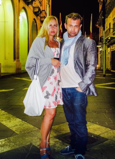Together beautiful Trends Style Faschion Islandlife Malta In My Eyes Valletta Photographer Marcin Michalski Two People Togetherness Full Length Casual Clothing Real People Front View Leisure Activity Happiness Young Women Lifestyles Young Adult Love Couple - Relationship Blond Hair Looking At Camera Portrait Standing Outdoors Smiling Architecture