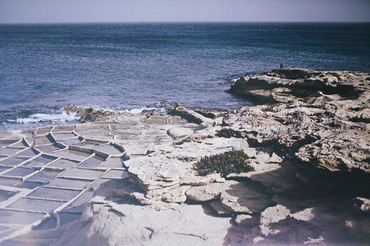 Coastline Exploring Horizon Over Water Power In Nature Rock Rock Formation Rocky Shore Sea Seascape Shore Stone Vacation Water Wave