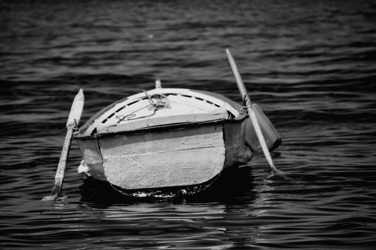 Tekne Yalnızlık Siyahbeyaz Blackandwhite Deniz özgürlük
