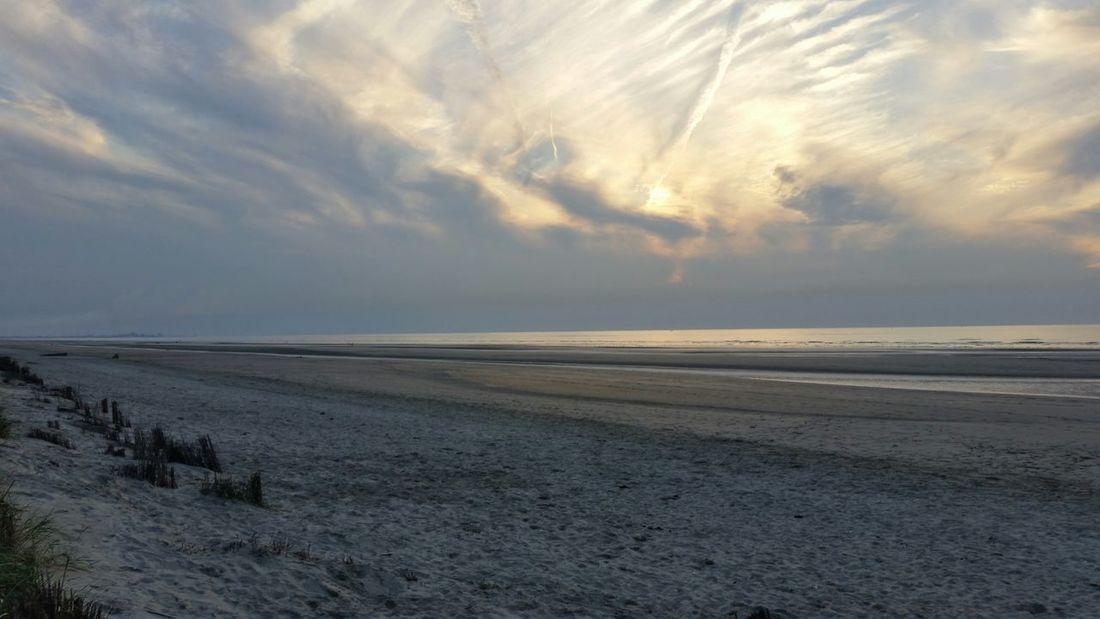Bray-Dunes France Holidays Relaxing Coucher De Soleil