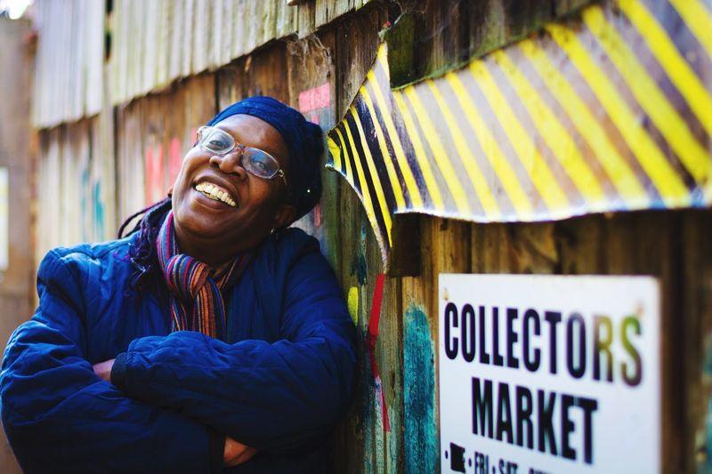Lola 🖤 Real People Portrait Smiling London Graffiti Expression Joy