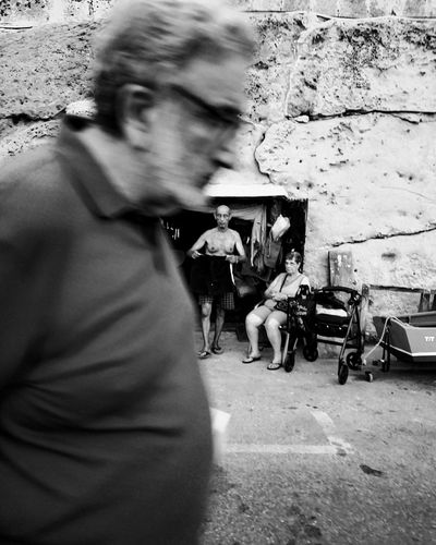 """""""se détendre"""" Series of a street photography project that focusing on the Maltese people. Blackandwhite Vacation Streetphotography Maltaphotography Blackandwhite Photography Street Black & White Project Life People Malta Shadow Women Close-up Street Scene City Street Crosswalk"""