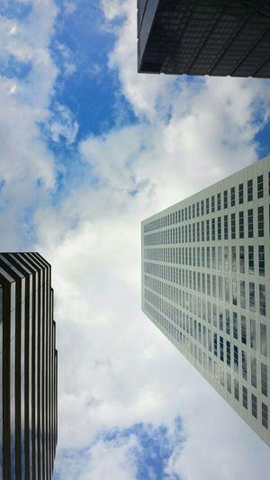 Look up Downtown Houston Dthtx Urbanphotography Htx Urban Geometry