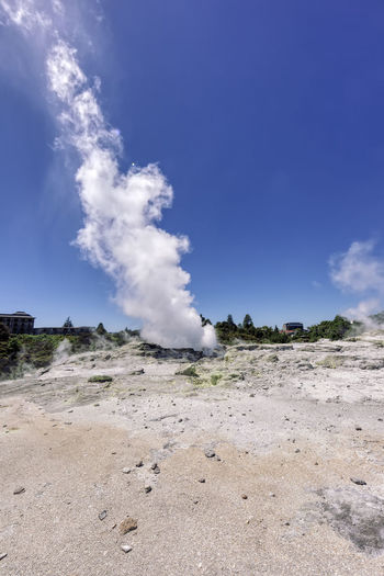 Pohutu Geyser in Te Puia – Rotorua, Bay of Plenty, North Island, New Zealand Active Volcano Barren Blue Sky Erupting Eruption Extreme Terrain Famous Place Fog Fumarole Geothermal  Geothermal Activity Geothermal Area Hanging Out Hot Igneous Natural Landmark Landscape_Collection Landscape_photography Majestic National Park New Zealand New Zealand Scenery New Zealand Beauty North Island Pohutu Geyser Nature Reserve Rotorua  Rock Scenics Spraying Sulphur Tall - High Te Puia Thermal Tourist Attraction  Travel Destinations Volcano Volcanic Landscape Volcanic Rock Volcanic Activity Volcanic  Water Wide Angle Vulcano Vulcanic Landscape Smoke - Physical Structure Geology Sky Steam Environment Land Physical Geography Landscape Day Beauty In Nature Power In Nature Geyser Nature Non-urban Scene Hot Spring Scenics - Nature Cloud - Sky No People Heat - Temperature Power Emitting Outdoors Air Pollution Pollution Arid Climate