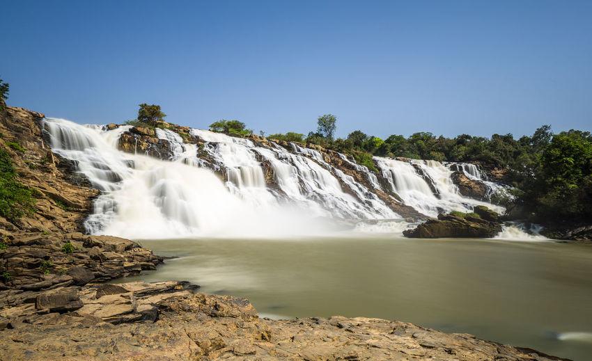 Gurara falls, along river gurara, located in niger state of nigeria
