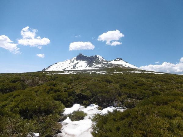 Peñalara Mountain Mountain Cloud - Sky Sky Beauty In Nature No People Nature Snow First Eyeem Photo