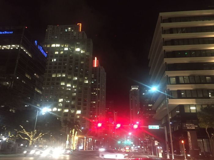 Illuminated Night Building Exterior Architecture City Built Structure Outdoors Street Light No People Sky