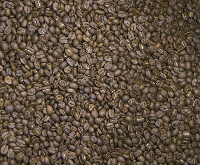 Abstract Abundance Backgrounds Brown Coffee - Drink Design Dry Food Food And Drink Geometry High Angle View Ideas Indoors  Large Group Of Objects No People Order Still Life