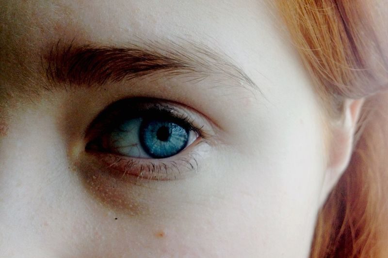 глаз голубой синий безднаглаз свет бровь ресницы рыжаяReal People Day Close-up One Person Looking At Camera Human Eye Portrait Human Body Part Eyelash Eyebrow Sensory Perception Eyeball Outdoors