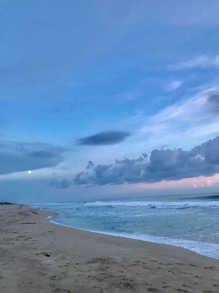 Beach Sea Sand Shore Scenics Water Tranquility Beauty In Nature Sky
