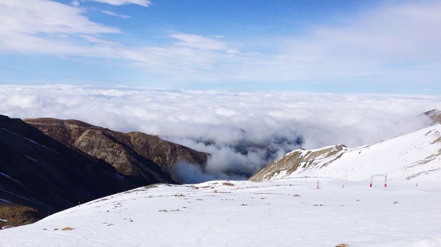 Capture The Moment Mountain NZ OverTheClouds First Eyeem Photo