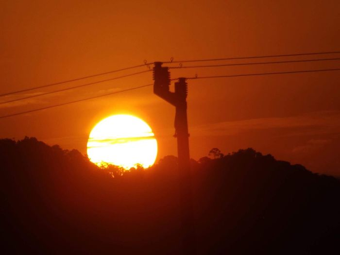 Nature Day Sun Sunset Orange Color Sunlight
