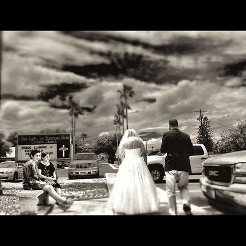 Wedding time. #bride #wedding #blackandwhite #mcallen #people People Wedding Blackandwhite Bride Mcallen