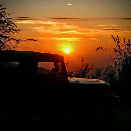 Thank god for small mercies - the mountains, the jeep and this view. Jammutimes Thar544