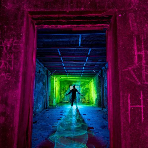 Middle Head LightPainting 2 Lightpainting Full Length One Person One Man Only Only Men Silhouette Adult People Indoors  Real People Built Structure Architecture Illuminated Adults Only Men Day Young Adult