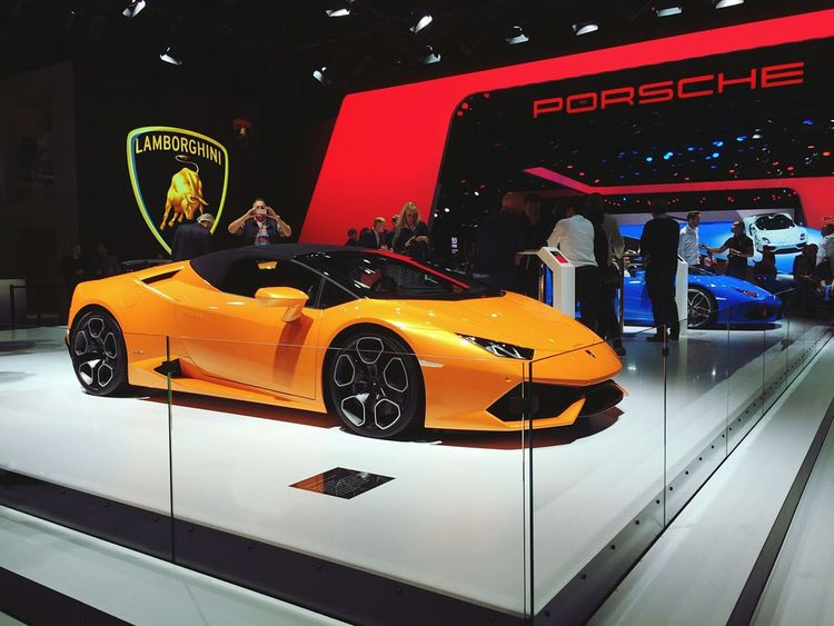 Lamborghini huracan spyder I Love Cars ♥ Carsofeyeem Sportscar IAA2015 Car Taking Photos Check This Out Lamborghini Lamborghini Huracan