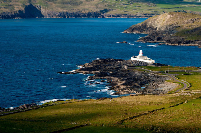 Amazing Nature Coastline Distant Enjoying The View Eye Em Nature Lover Ireland Irish Landscape_Collection Lighthouse Nature_collection Outdoors Sea And Sky Sky Travel Photography Traveling