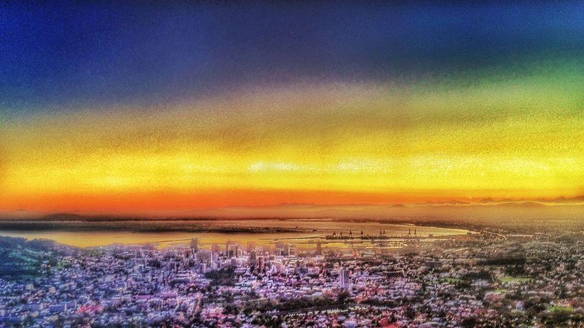 Hello World Capetown Cape Town Ilovecapetown Landscape City View  Cityscape [kate Miller Photography]