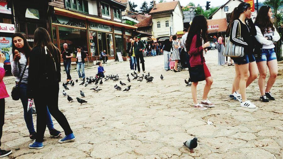 Sarajevo Bascarsija Square Bascarsija Bosnia And Herzegovina Mainsquare