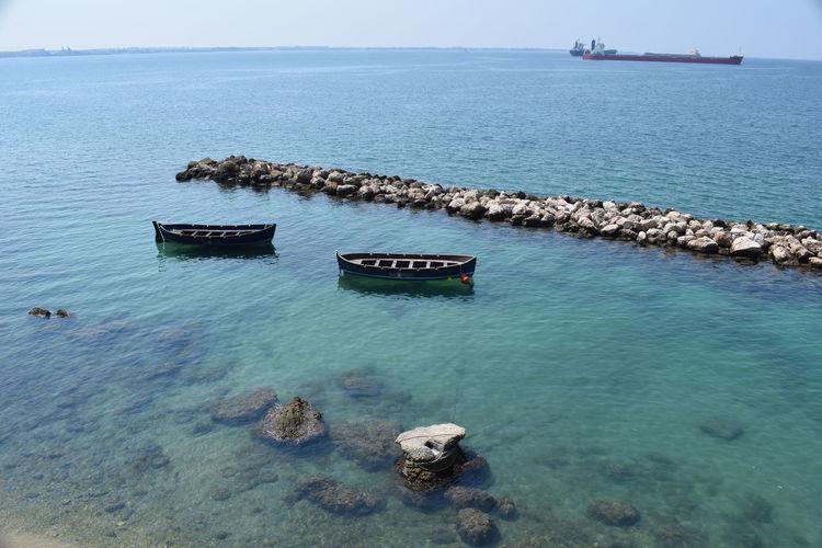 A panorama sea