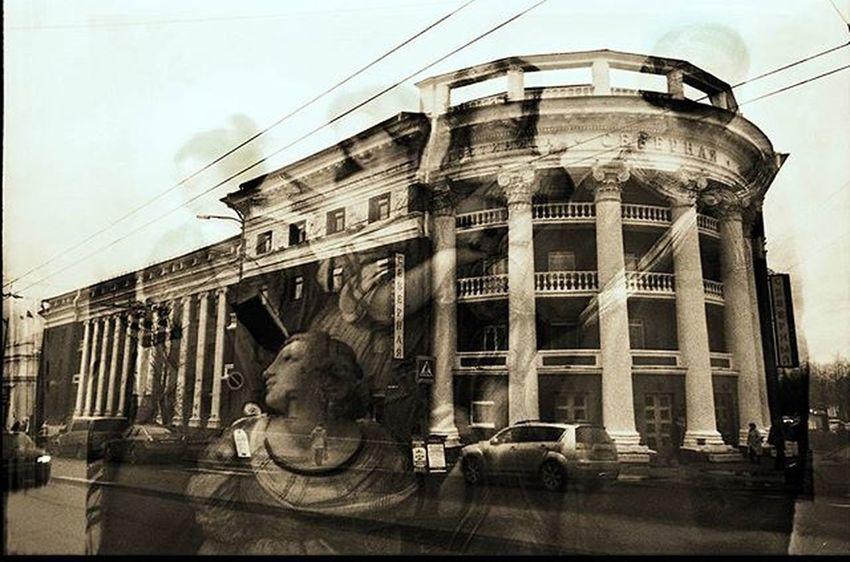 Film Filmphotography Filmfoto 35mm Analog Analogphotography Sepia Sepiatone Sepiaportrait Art Artist Instaart Olga_genievskaya ОльгаГениевска Мультики Multiexposure  Multiexposition