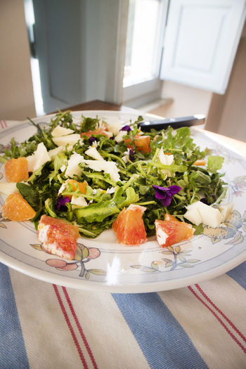 Food Freshness Ready-to-eat Plate Healthy Eating Indoors  Table Food And Drink Wellbeing Salad Close-up No People Still Life Vegetable Serving Size Seafood High Angle View Fruit Meal Day Dinner Japanese Food Greek Food